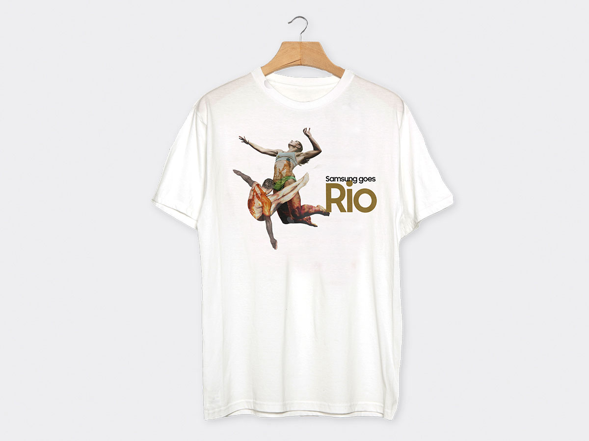 Galaxy goes Rio T-Shirt