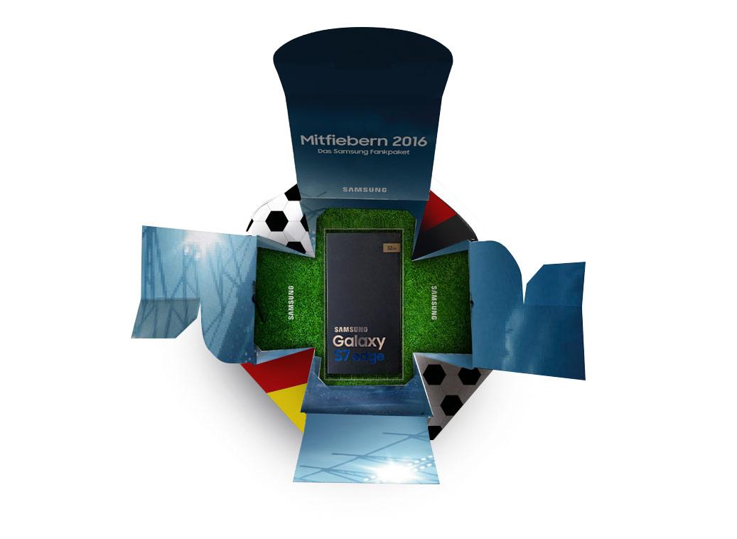 Samsung Mitfiebern - Box offen
