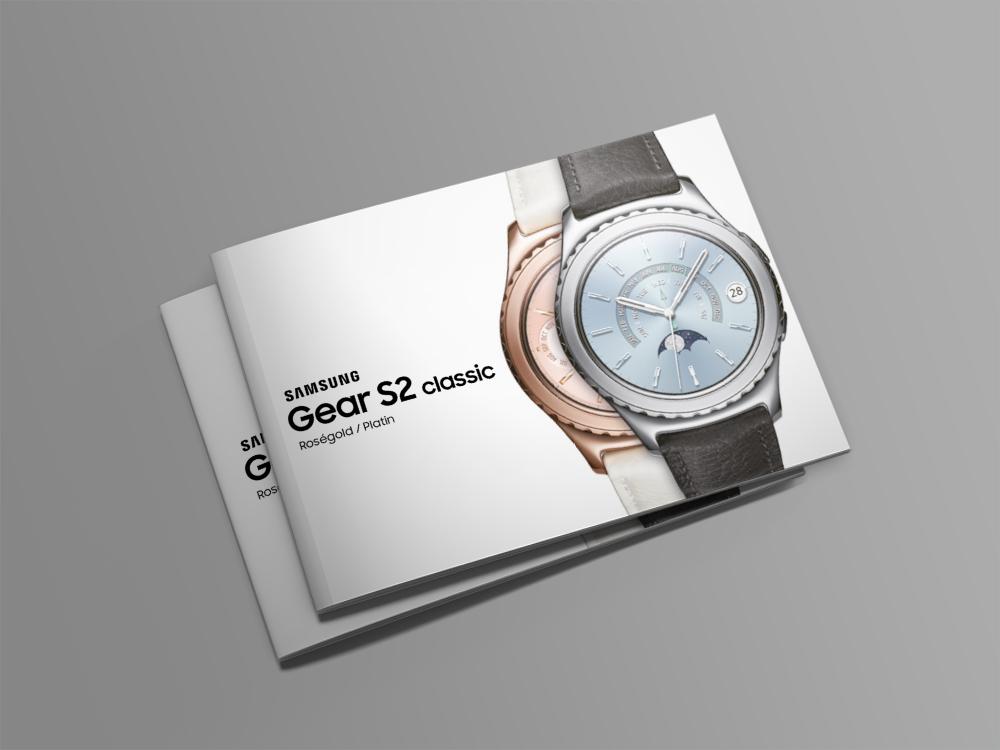 Samsung Gear S2 Broschüre - Cover