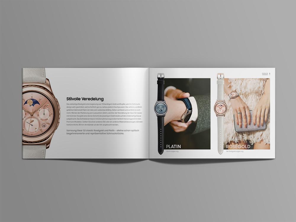 Samsung Gear S2 Broschüre - Innenseite