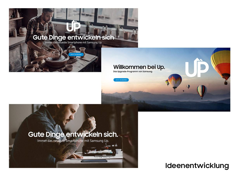Samsung UP - Ideenentwicklung