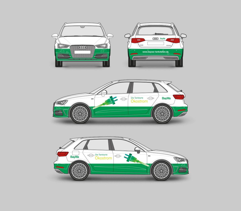 Baywa Tankkarte - Autogestaltung