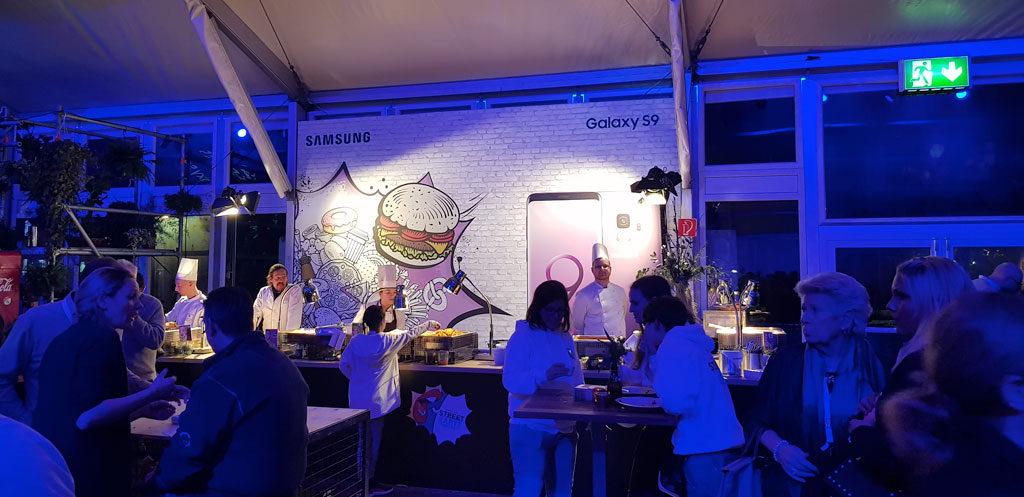Galaxy S9 - Burgerbar